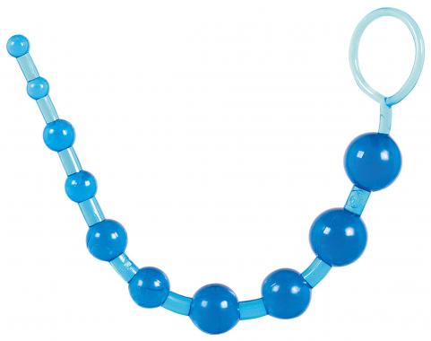 Анальный шарики с кольцом, 26,6 см