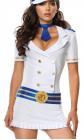 Белый костюм капитанши, р. 46