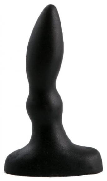 Черная анальная пробка, 10 см