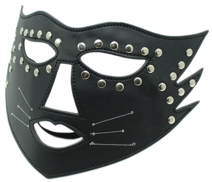Черная маска на глаза
