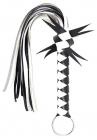 Черно-белая плетка, 60 см