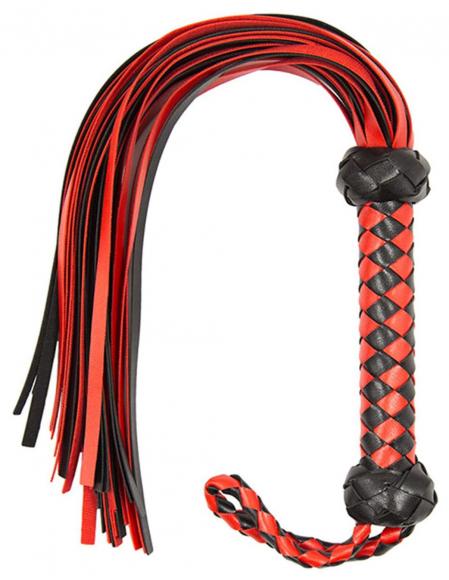 Черно-красный флоггер, 50 см