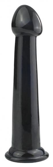 Черный анальный стимулятор, 22 см