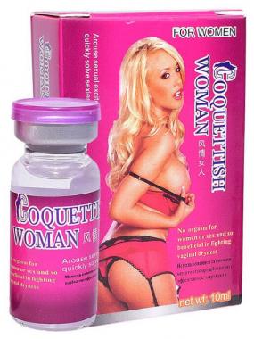 Coquettish Woman возбуждающие капли для женщин, 10мл