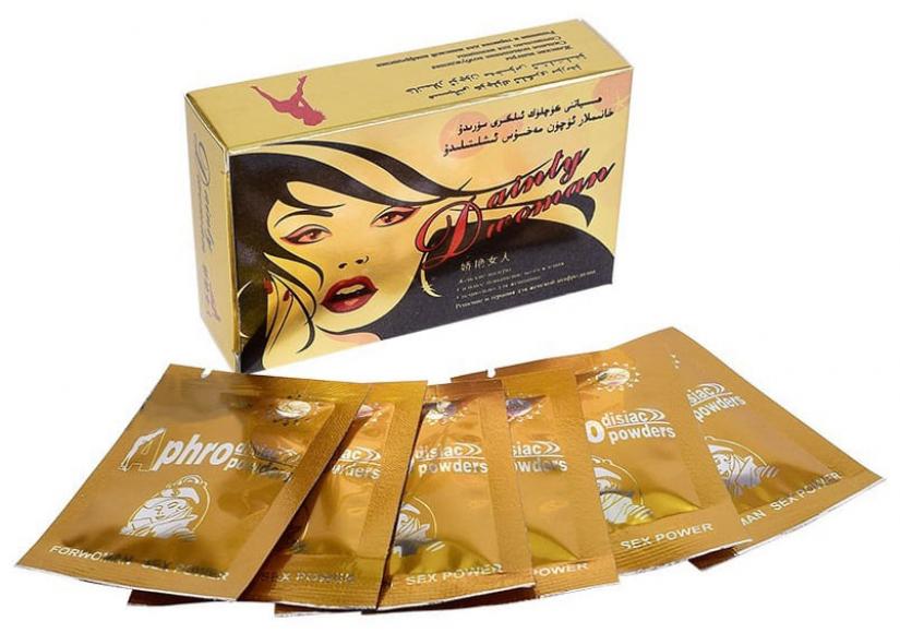 Dainty Woman возбуждающий порошок для женщин, 6 саше-пак.