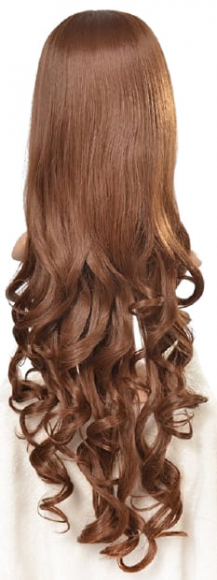 Длинный парик с кудрями