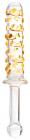 Двусторонний фаллоимитатор из стекла, 20,5 см