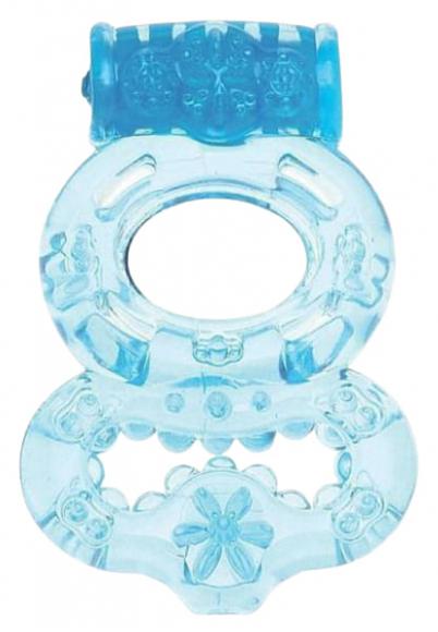 Эрекционное вибрирующее кольцо, Ø 4 см