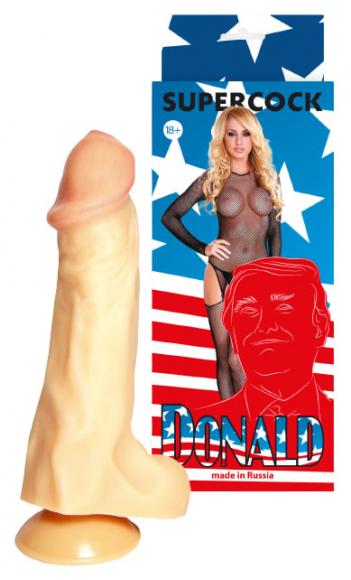 Фаллоимитатор Дональд, 19,5 см