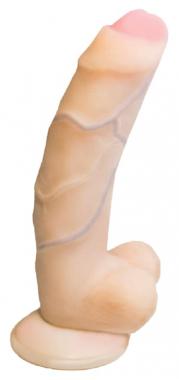 Фаллоимитатор Real Standard с присоской, 18 см