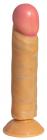 Фаллоимитатор с присоской, 18 см