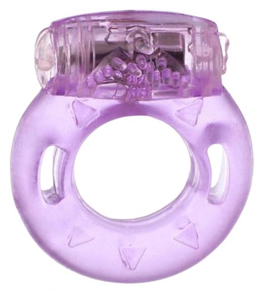 Фиолетовое виброкольцо, Ø 5 см