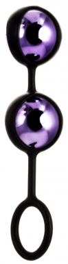 Фиолетовые вагинальные шарики, Ø 3,1 см