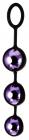 Фиолетовые вагинальные шарики, Ø 3,5 см
