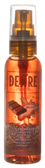 Гель-лубрикант Desire Intim с ароматом шоколада, 60 мл