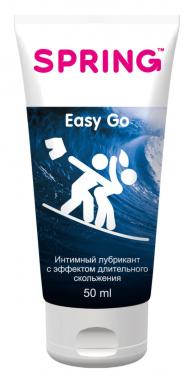 Гель-лубрикант Easy Go, длительное скольжение, 50 мл
