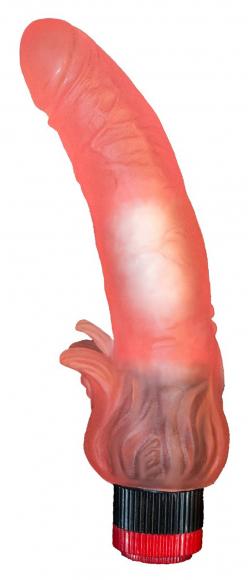 Гелевый вибромассажер, 18,5 см