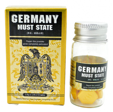 Germany Must State препарат для потенции, 10 табл.