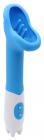 Голубой вибростимулятор клитора, 19,5 см