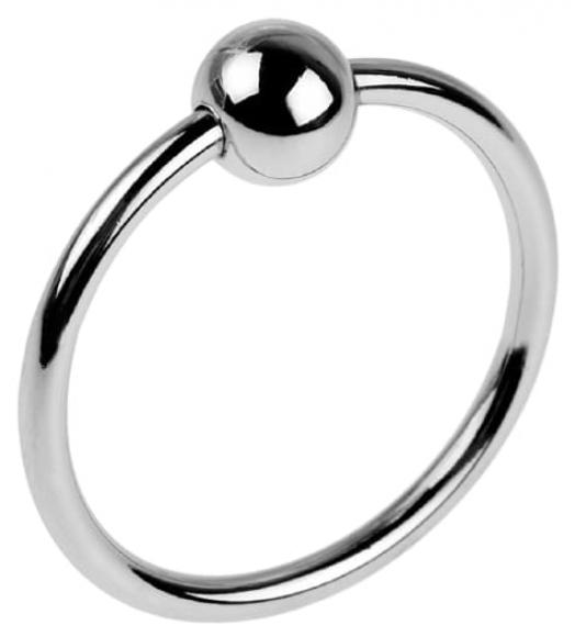 Кольцо на головку члена с шариком, Ø 3,5 см