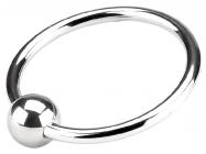 Кольцо на головку члена с шариком, Ø 4 см