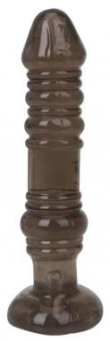 Коричневый анальный жезл, 13,5 см