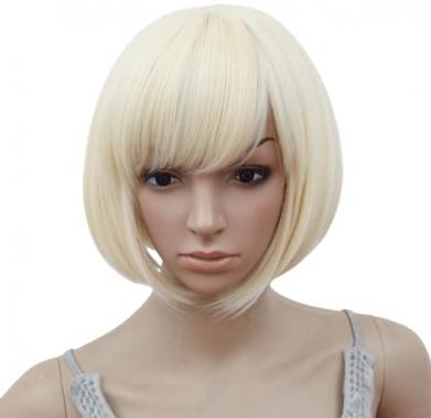 Короткий парик блонд