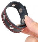 Кожаное кольцо на пенис