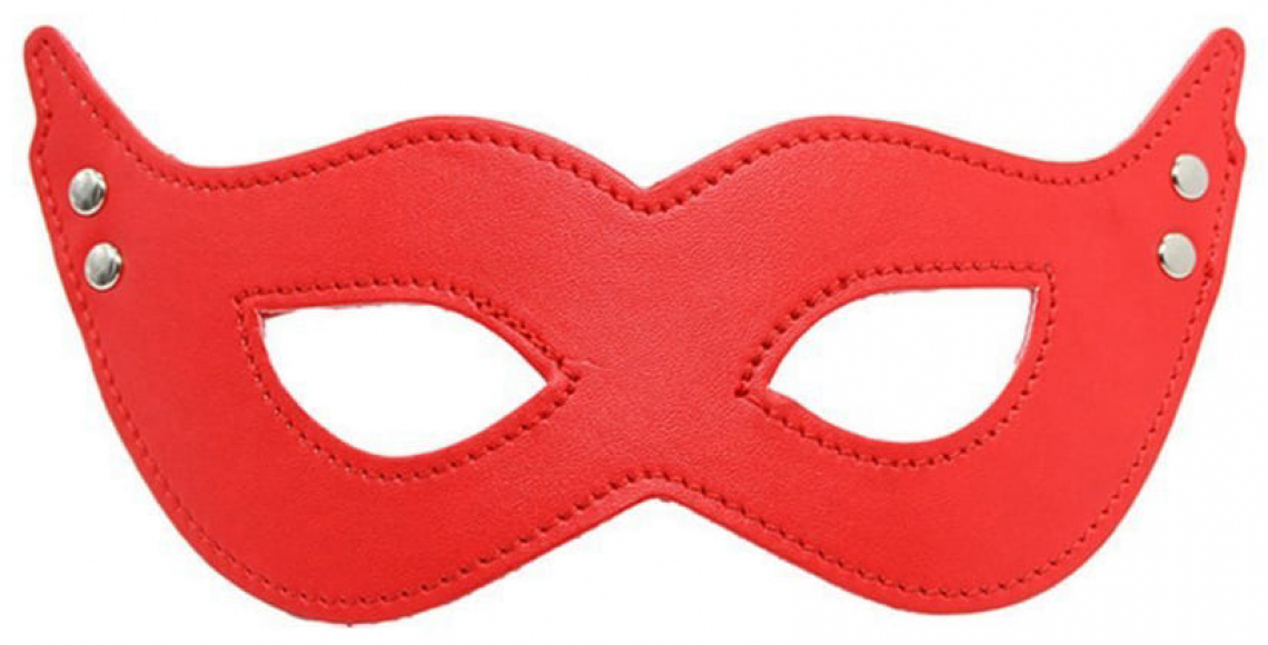 Красная маска для ролевых игр