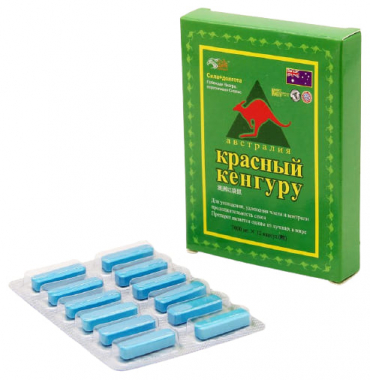 Красный Кенгуру препарат для потенции, 12 табл.