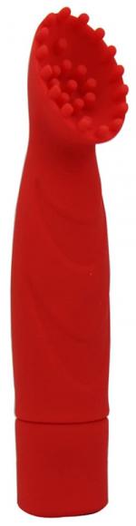 Красный стимулятор клитора, 11,8 см
