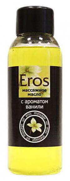 Масло массажное  Eros с ароматом ванили, 50 мл