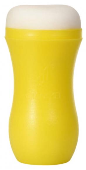 Мастурбатор-анус в эластичном тубусе, 14 см