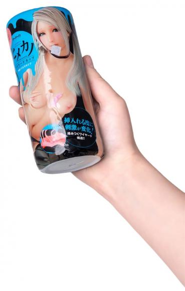 Мастурбатор Himekanou Wide Cup Pleasure Ibobida Type, 15 см