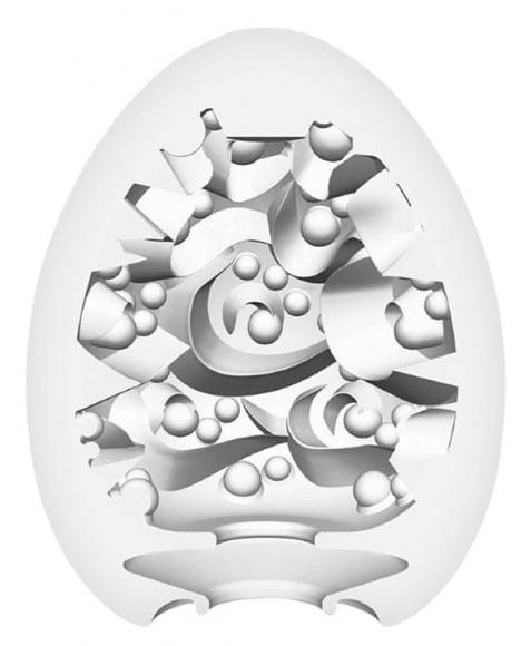 Нереалистичный мастурбатор-яйцо Surfer, 6,1 см