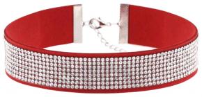 Ожерелье-чокер со стразами