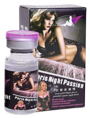 Paris Night Passion возбуждающие капли для женщин, 10мл