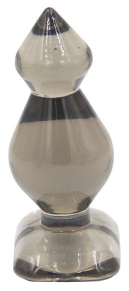 Прозрачная анальная пробка, 8,6 см