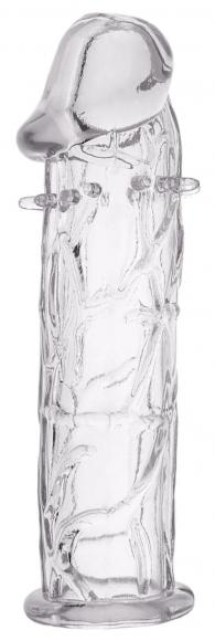 Прозрачная насадка с усиками, 12,5 см