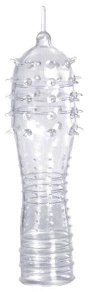 Прозрачная насадка с усиками, 13,3 см