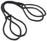 Регулируемые веревочные наручники