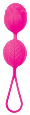 Розовые вагинальные шарики, Ø 3,5 см