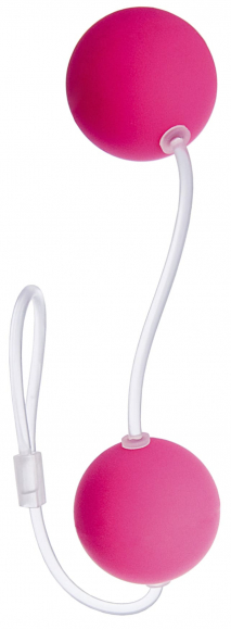 Розовые вагинальные шарики, Ø 3 см
