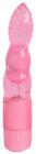 Розовый многоскоростной вибратор, 20 см