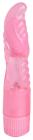 Розовый мультискоростной вибратор, 20 см