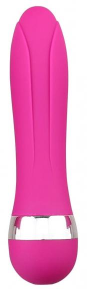 Розовый вибростимулятор, 10,9 см