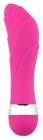 Розовый вибростимулятор, 11,5 см