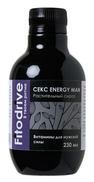 Сироп для мужчин Секс Energy Man для усиления эрекции, 230 мл