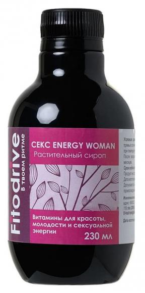 Сироп для женщин Секс Energy Woman для повышения либидо и сексуальности, 230 мл