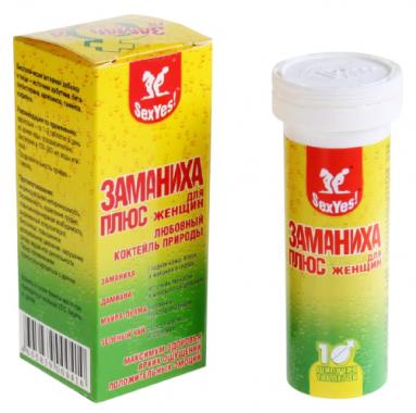 Таблетки Заманиха Плюс для женщин, 10 табл.
